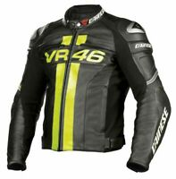Valentino Rossi VR 46 Motorcycle/ Motorbike MotoGP Racing Leather Jacket