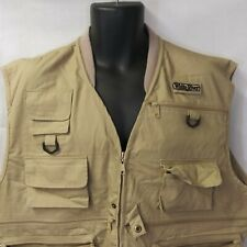 White River Fly Fishing Vest 2XL Khaki Hobbs Creek New With Tags
