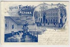 AK Hamburg, Altona, Hotel Kühnel , Bahnhofstrasse