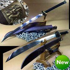 Battle Ready Chinese Sword Dragon Phoenix ZhanMa Dao T1095 High Carbon Steel