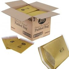 Heavy Duty Padded Jiffy Bag 225 x 343mm Pack of 100 Size 4 PB4