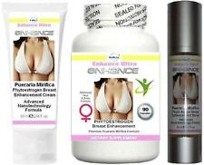 3x  Breast Firming Enlargement Enhancement Cream Serum Capsules Firmer Bust Lift