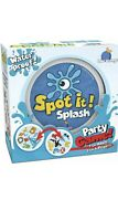 Spot It! Splash Card Game Water Proof Party Game Blue Orange 2-8 Players New NIB
