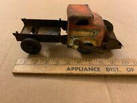 tin toy old vintage pressed steel bucket dump truck