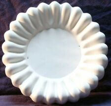 Round Fluted Rim Flower Plate Glass Fusing Slump Kiln Mold