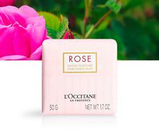 NEW L'Occitane Rose Moisturising Nourishing Perfumed Soap 50g Free Post