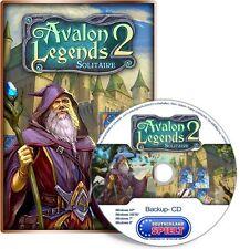 Avalon Legends Solitaire 2 - PC - Windows XP / VISTA / 7 / 8 / 10