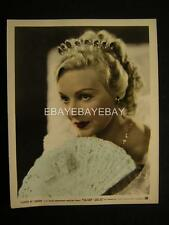 1936 Madeleine Carroll Lloyds Of London VINTAGE Movie PHOTO 593E