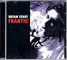 BRIAN FERRY frantic CD 2002 Roxy Music AUTOGRAPHED