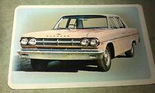1965 RAMBLER V8  Golden Fleece Australia  Swap CARD