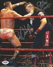 Paul Orndorff & One Man Gang Signed WWE 8x10 Photo PSA/DNA COA WCW Picture Auto