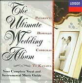 Ultimate Wedding Album  Pavarotti! Domingo! Carreras!! NEW CD! ONLY NEW COPY!!