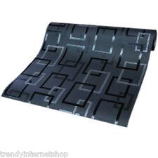 Vlies Tapete PS 13270-10 dunkelgrau grau schwarz Vierecke Design Glitzer Modern