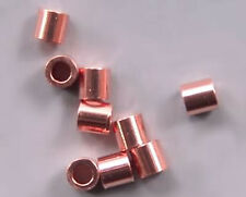 Crimps 2mm x 2mm Beads Copper-Plated 41002 (400)