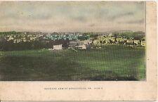 Birds Eye View of Stroudsburg PA Postcard