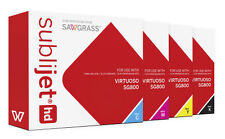 NEW RICOH Sawgrass Sublijet HD Virtuoso SG800 Sublimation Ink Set