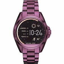 Sealed Michael Kors Access Women's Bradshaw Plum Bracelet Smart Watch MKT5017