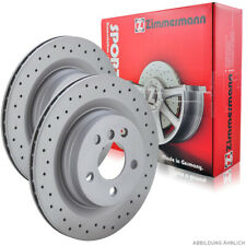 Zimmermann SPORT Bremsscheiben Satz Audi A4 B8 A5 8T 8F A6 A7 C7 Q5 8R vorne
