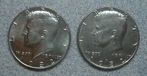 1982 D Kennedy Half Dollar VG-EX Circulated Condition Ships Free