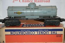 O Scale Trains Lionel Sunoco Tank car  6035