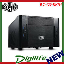 CoolerMaster RC-130-KKN1 Mini-ITX Case Elite 130 DT Compact USB 3.0 Black