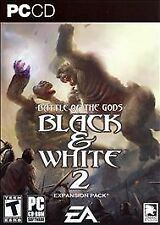 PC Black & White 2 Battle of the Gods Expansion Pack (2006) COMPLETE Disc VG VG+