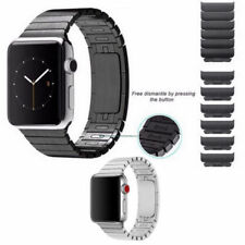 1:1  Link Bracelet Stainless Steel Band Strap For Apple Watch Series 6 5 4 3 2 1