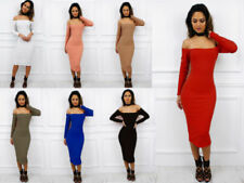 Long Sleeve Dresses for Women with Slimming Bodycon Dress