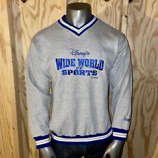 New listing Nwt! Deadstock Vintage Disney Wide World of Sports Discus Men's Large Sweater