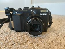 Canon PowerShot G11 3632B00 10MP Compact Digital Camera - With Extras!