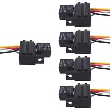 5 X 12V 30A 4 Polig Relais EIN/AUS Umschalter Wechselrelais Buchse Stecker AT