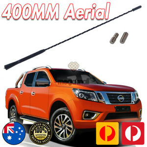 Long Whip Antenna Aerial Car Ute Roof AM FM Radio Signal Booster For Nissan 40CM