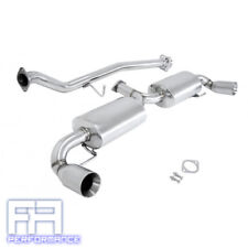 """Manzo 3.5"""" Dual Stainless Tips Catback Exhaust for Mazda RX8 RX-8 SE3P 04-11"""