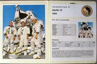 s1848) Raumfahrt Space Kosmos - Apollo 12 Sammlung mit Autogrammen