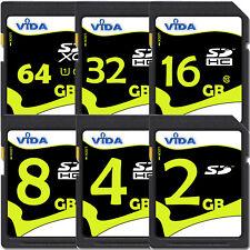 High Quality 2GB 4GB SD SDHC Memory Card For Digital SLR Camera Speed Class- NEW