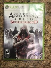 ASSASSIN'S CREED: Brotherhood (Microsoft Xbox 360, 2010) -- COMPLETE