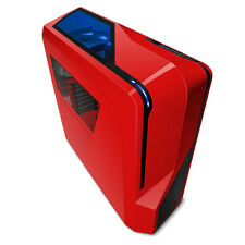 NZXT Phantom 410 Red ATX Gaming USB3 PC Custodia Con Finestra Laterale & FAN CA-PH410-R1