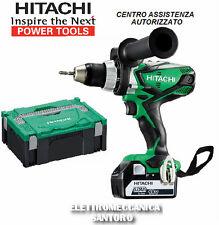 CONDUCTOR DE PERFORACIÓN A BATERÍA LITIO DS18DSDL AH 5 VOLTIO 18 Nm 92 HITACHI