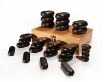 Master Massage Professional 28 pcs Mini Body Massage Stone Set for Body Massage