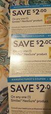 $20 Similac NeoSure coupons. Exp. 4/01/2021