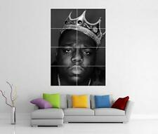 BIGGIE SMALLS NOTORIOUS B.I.G WALL ART PHOTO PICTURE PRINT POSTER