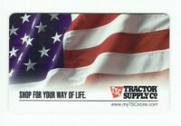 Tractor Supply Co Gift Card - American Flag - Older Style - No Value - I Combine
