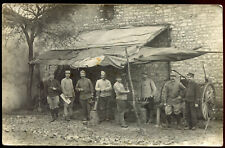 cpa carte-photo guerre 1914-1918 . Forge . Forgerons