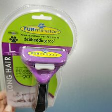 Brand New Furminator DeShedding Tool Cats W Long Hair Removal Tool Fast Shipping