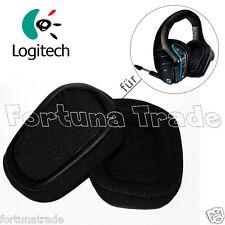 Original Logitech Ersatz Ohrpolster ear pads für G933 Headset ohne Kopfhörer