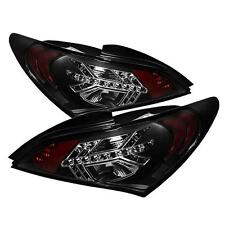 Tail Lights 2 Door Hyund Genesis Coupe 2010-2012 LED - Black