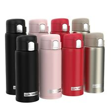 Ion8 CaféStor Leak Proof Thermal Insulated Stainless Steel Water Bottle, 480ml
