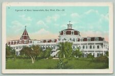 Key West Florida~Convent Of Mary Immaculate~1920s Postcard