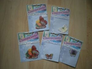 COUNTRY GARDEN PAPERSHAPES - BUTTERFLIES, 5 PACKS