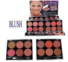 Cosmetics Makeup Blush Powder Bronzer + Brush 12 Colors 2 Palettes -Blush1 ^*